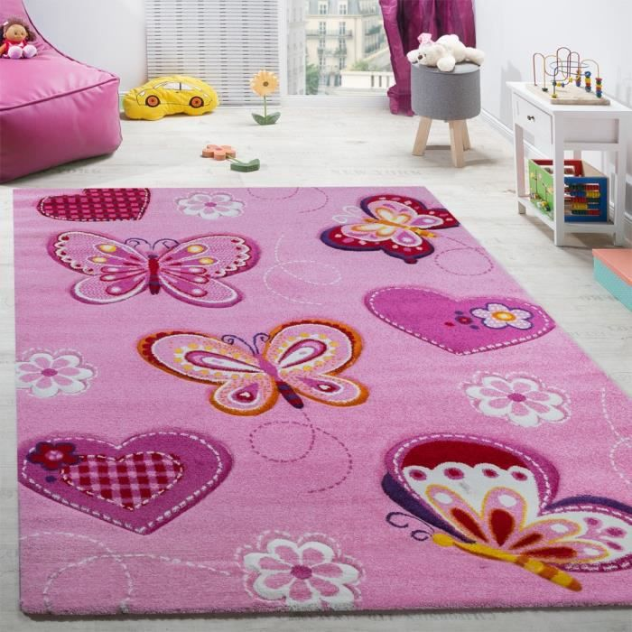 tapis enfant fille achat vente tapis enfant fille pas cher cdiscount. Black Bedroom Furniture Sets. Home Design Ideas