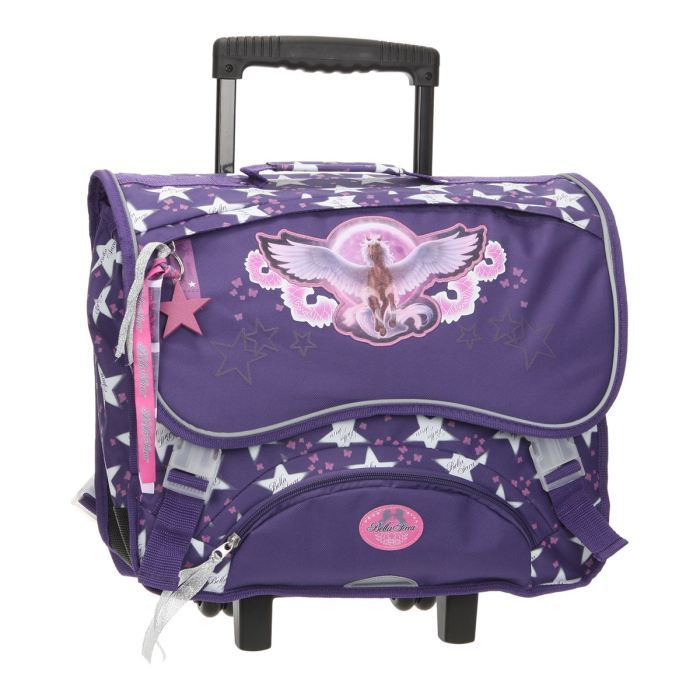 bagages bella sara cartable roulettes cm nike fille f  bsa