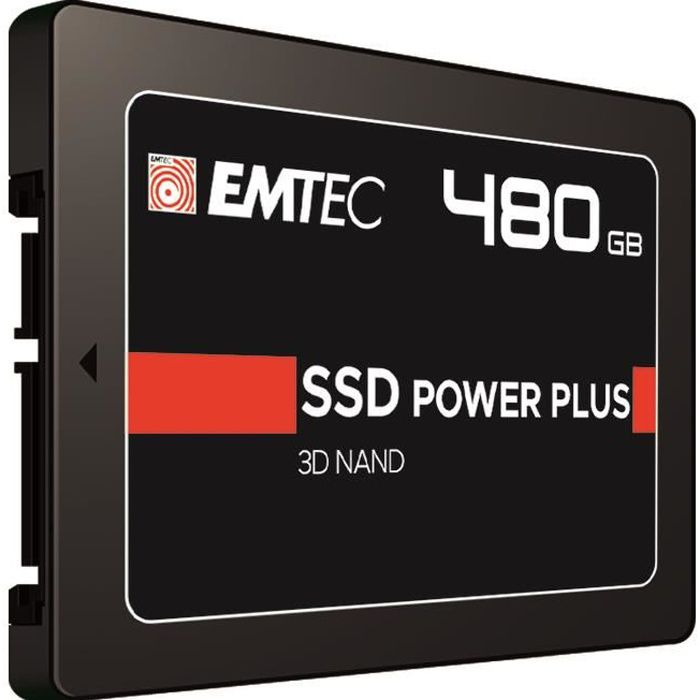 DISQUE DUR SSD EMTEC - Carte SSD Power Plus - 480 GB