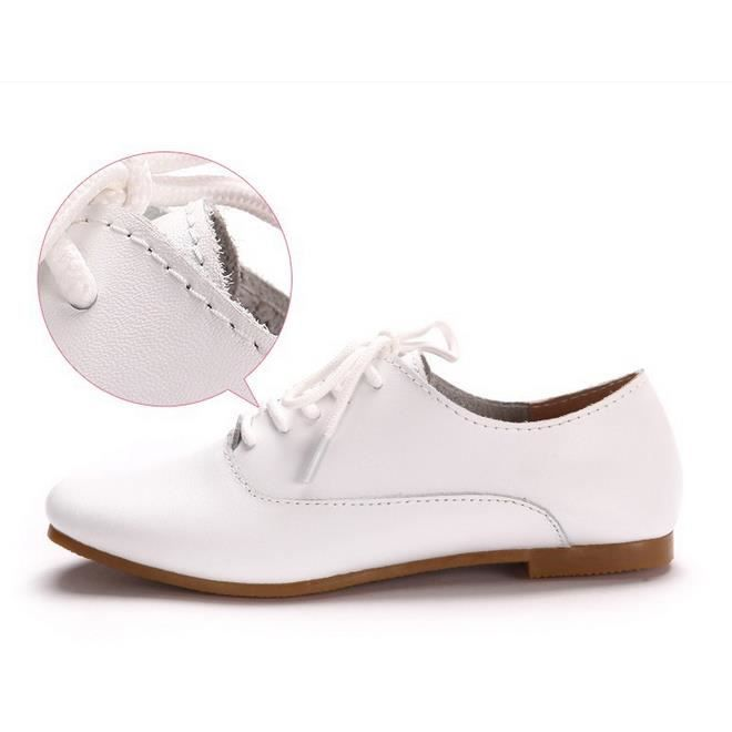 8 - flats chaussures femmes chaussures oxford (blanc)