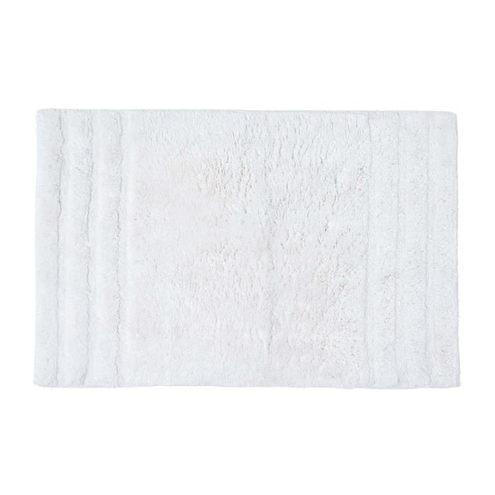 tapis de douche spa ultra doux blanc achat vente tapis cdiscount. Black Bedroom Furniture Sets. Home Design Ideas