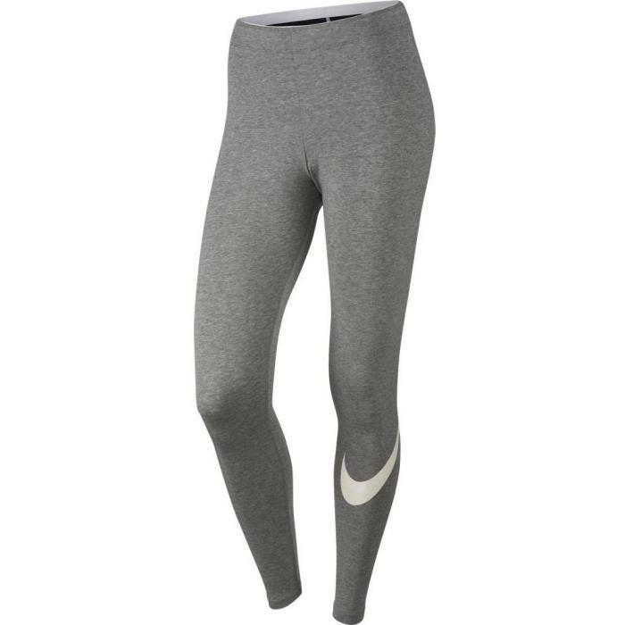 legging nike femme gris