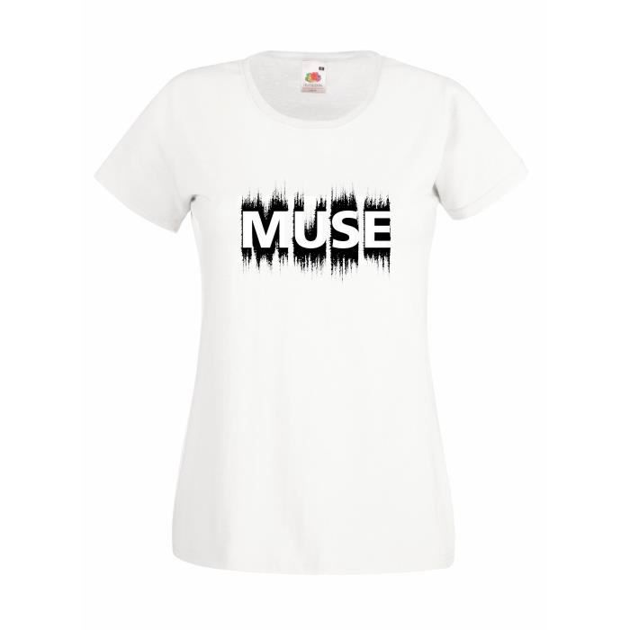 T-SHIRT T-shirt  femme Muse - grunge logo T-shirt 100% cot