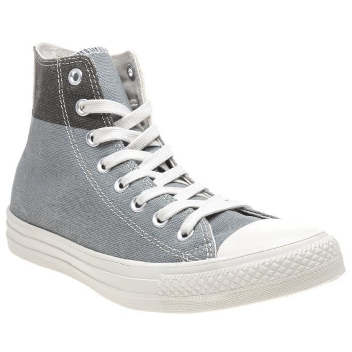 BASKET CONVERSE All Star Hi Baskets homme gris 1OPX44 Tai