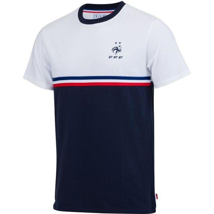 Collection Officielle Taille Homme Equipe de FRANCE de football T-Shirt Griezmann FFF