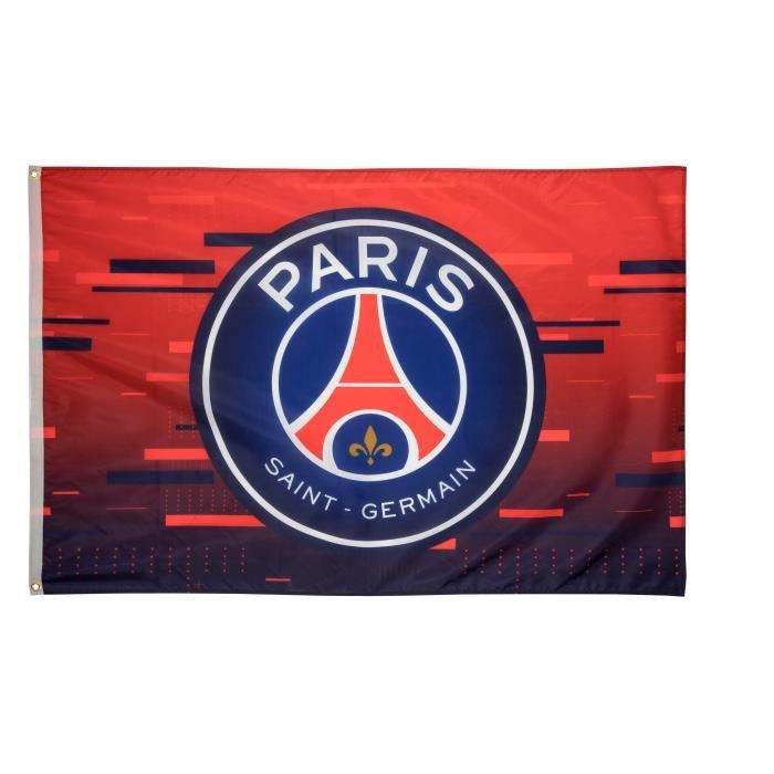 Drapeau Psg Collection Officielle Paris Saint Germain Taille 150 X 100 Cm