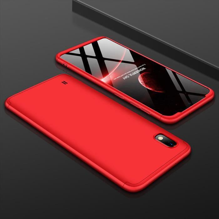 Coque Samsung Galaxy A10, avec Verre Trempé Protec