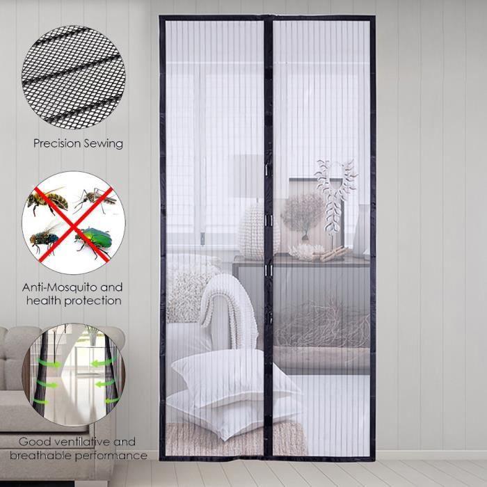 rideau de porte magnetique moustiquaire de fenetre