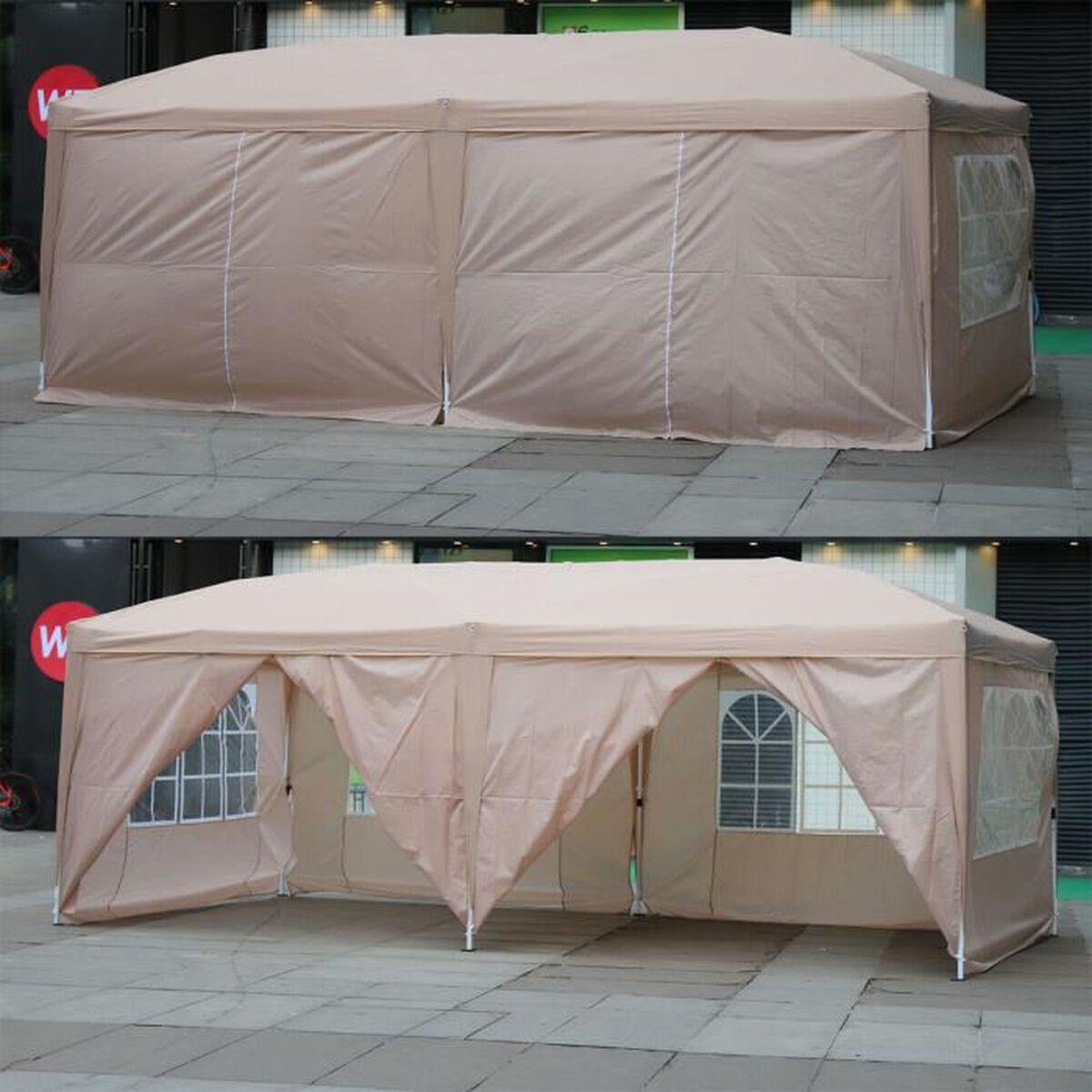Tonnelle Kiosque De Jardin 3x6m tonnelle de jardin/tonnelle pliant/tente/gazebo/fête et