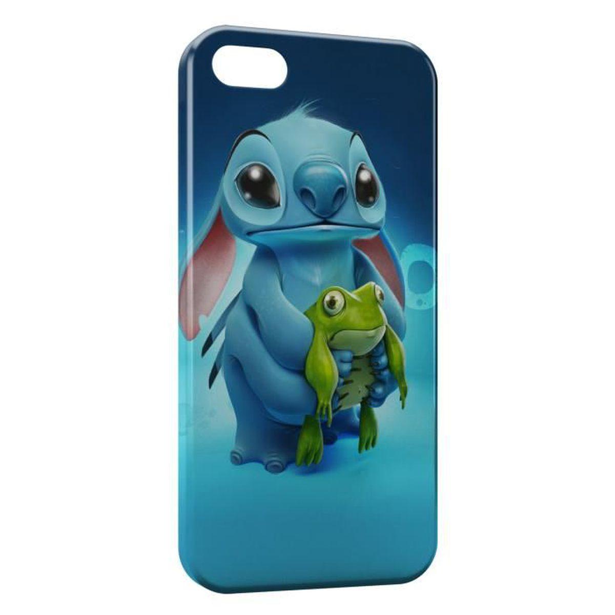 Coque iPhone 5 & 5S Stitch Grenouille 2 - Cdiscount Téléphonie