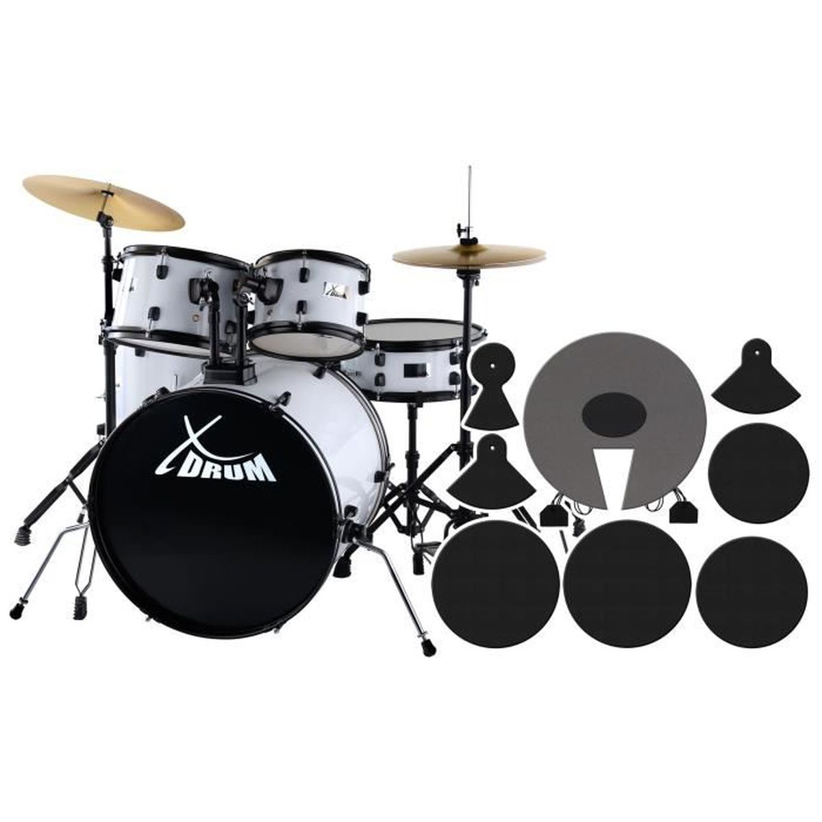 xdrum rookie 22 pas cher achat vente batterie cdiscount. Black Bedroom Furniture Sets. Home Design Ideas