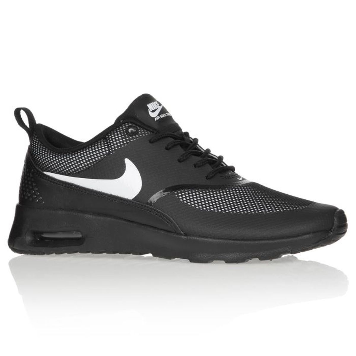 nike baskets air max thea femme femme noir achat vente nike baskets femme femme pas cher. Black Bedroom Furniture Sets. Home Design Ideas
