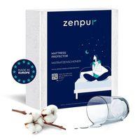 ZENPUR Protège Matelas - Premium - 100% Imperméable - Anti-Acariens & Anti-Bactérien - 140x190/200 cm
