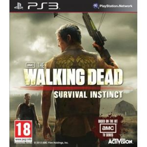 JEU PS3 The Walking Dead: Survival Instinct  (Playstation