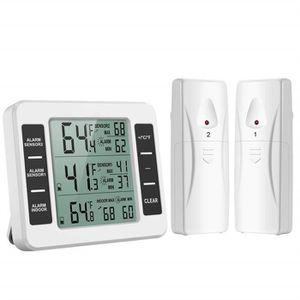 THERMOMÈTRE - BAROMÈTRE Thermomètre digital intérieur extérieur Capteur de