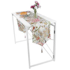 CHEMIN DE TABLE Nappe de couverture de chemin de table d'impressio