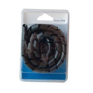 CÂBLE - FIL - GAINE Gaine spiralee 12mm x 2m