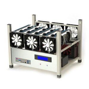 ENCEINTES ORDINATEUR Enceinte ordinateur avec 6 ventilateur et températ