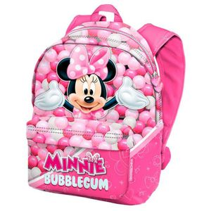 SAC À DOS MINNIE - Grand cartable avec renforts 42cm MINNIE