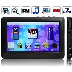 LECTEUR MP4 Lecteur MP3/MP4/MP5 Ecran Tactile Full HD 8 Go