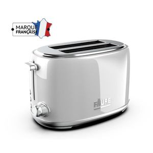 GRILLE-PAIN - TOASTER FAURE FT2S-8121 Grille-Pain - 3 fonctions - Variat