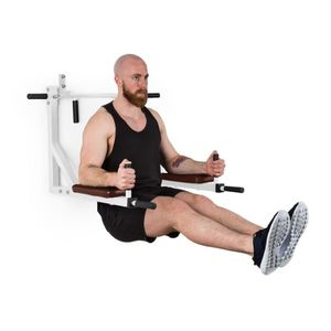 BARRE POUR TRACTION Klarfit Bouncer MultiGym Barre de traction et dips