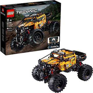 ASSEMBLAGE CONSTRUCTION Jeu D'Assemblage LEGO WZ6L4 Technic 4x4 X-treme to