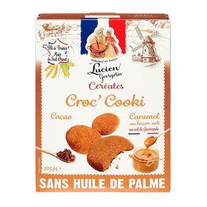 CÉRÉALES - MÉLANGES LUCIEN GEORGELIN Céréales Croc'Cooki au Caramel Be