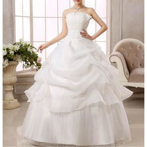 ROBE DE MARIÉE Princesse robe de mariée blanche robe de bal, plus