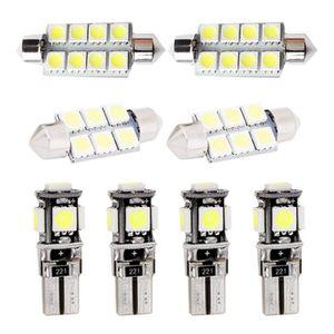 Pour Civic 2013-2018 LED Lampe Ampoules Blanc Wedge Int/érieur De Voiture Lumi/ère D/ôme Feux De Plaque Dimmatriculation Canbus Anti Erreur 12V Pas De Polarit/é Con/çu 4 Pi/èce