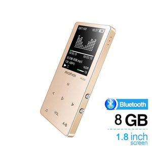 LECTEUR MP4 MP4 HiFi Bluetooth MP3 Lecteur de Musique 8Go écra
