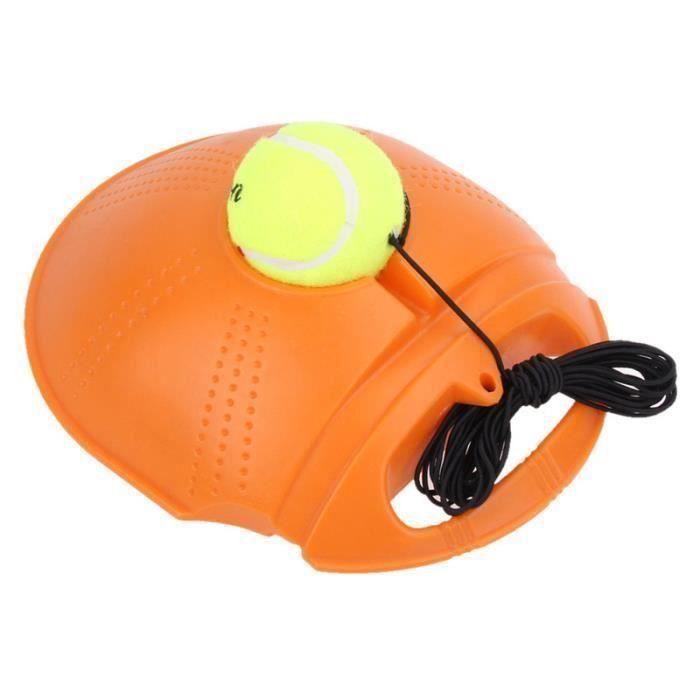 EntraîNeur de Tennis EntraîNement Outil Principal Exercice Balle de Tennis Balle Auto-éTude Rebond EntraîNeur de Tennis Plinthe,