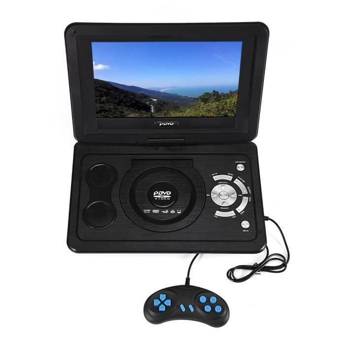 13.9- Portable Lecteur DVD 16: 9 Écran LCD 110-240 V HD TV 800 * 480 Résolution