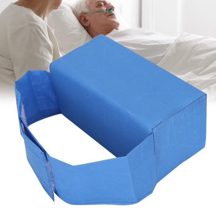 Anti-escarres Coussin de lit Genou poignet Side-Lying Pad Santé Outil de soins aux personnes âgées (Bleu)-CHE