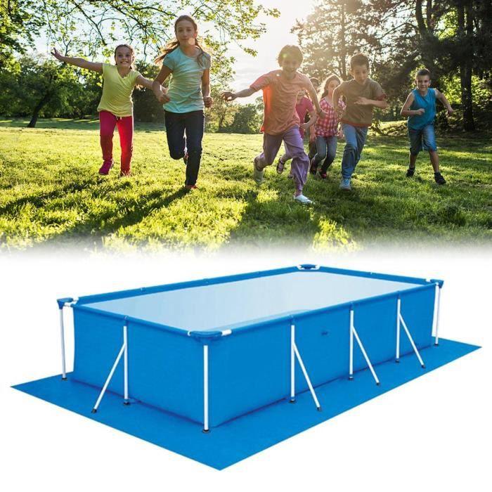 Tapis de sol pour tapis 5m x 3m pour piscine au-dessus offrant une protection supplémentaire au fond de la piscine