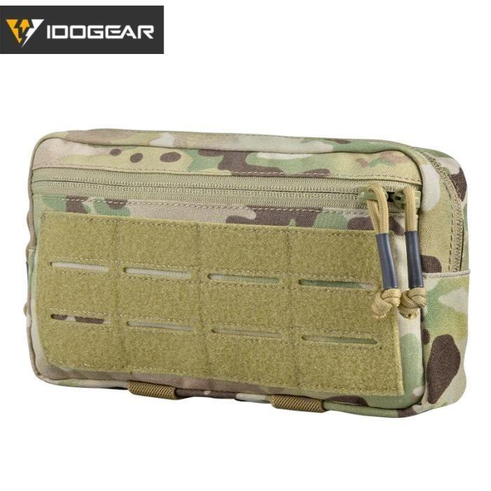 Pochette tactique MOLLE pour accessoires de survie,sac de matériel EDC survivaliste, sacoche multi fonction po LA51171247