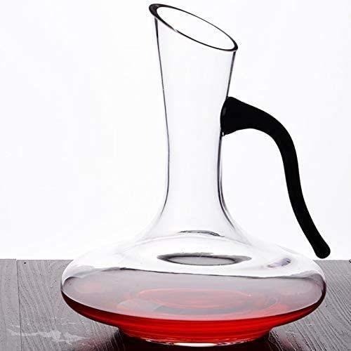 Carafes à décanter Vin Decanter, 1700ml - 1900ml - 1650ml Distributeur À Manche, Accessoires Sans Plomb Cristal Vin, &Eac440