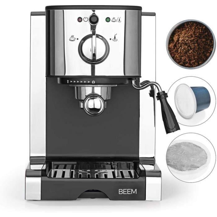CAFETIERE BEEM ESPRESSO-PERFECT porte-filtre espresso 20 bars - Espresso, Cappuccino, Latte Macchiato en qualit&eacute barista 325