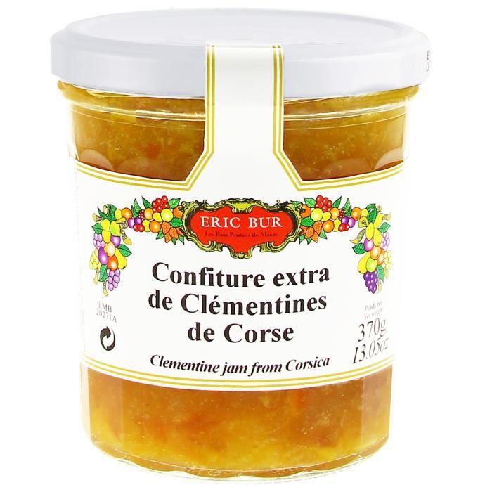 ERIC BUR Confiture de Clémentine Corse - 360 g