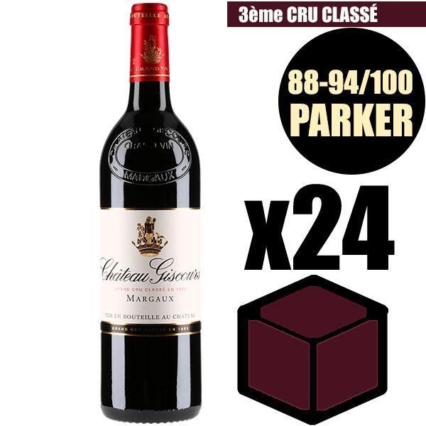 X24 Château Giscours 2014 75 cl AOC Margaux Rouge 3ème Cru Classé Vin Rouge
