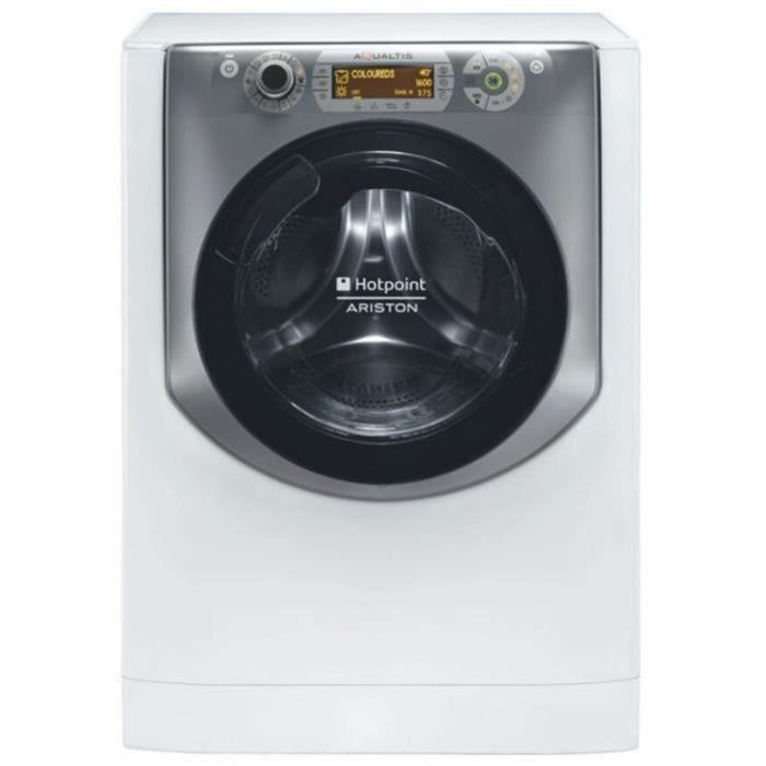 Hotpoint-Ariston AQD1070D69EU Rondelle 10 kilogrammes 1600 tr / min Classe: A Blanc et titane
