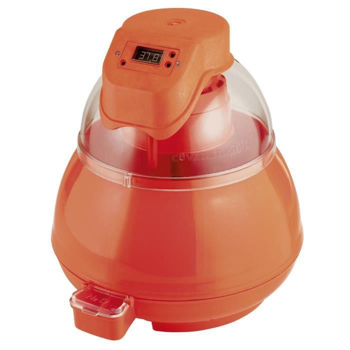 NOVITAL Couveuse Covatutto - 230 V - Ecran digitale - 16 oeufs de poule