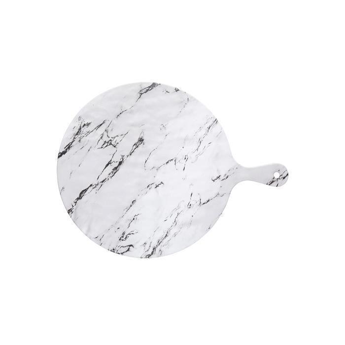 Planche mélamine effet marbre