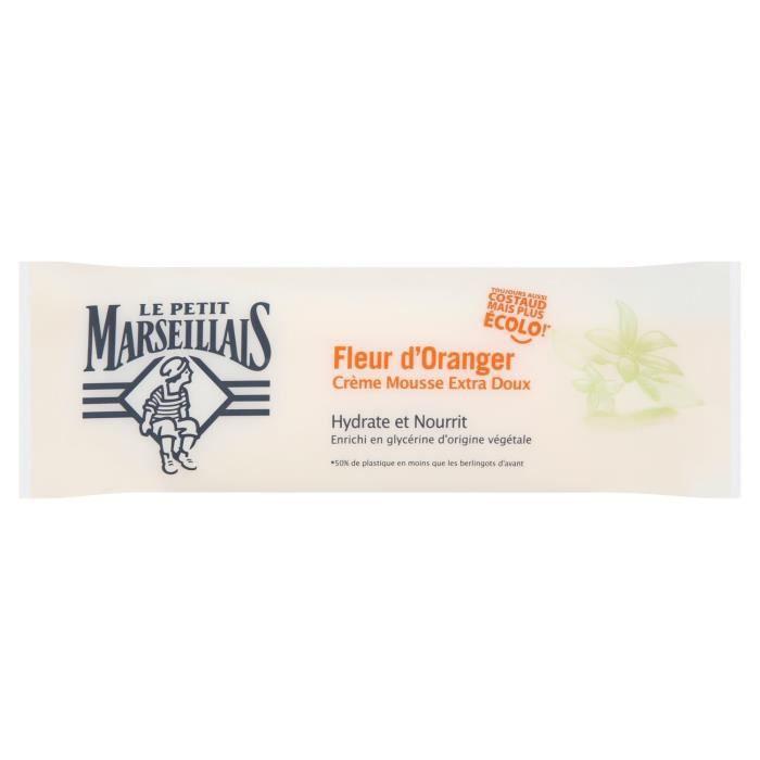 LE PETIT MARSEILLAIS Savon liquide fleur d'oranger - berlingot de 250mL