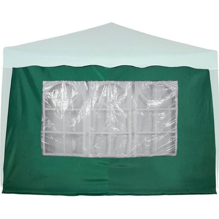 INSTENT panneau latéral vert « BASIC » avec 3 fenêtres, sans fermeture à glissière