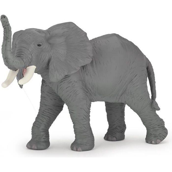 PAPO Figurine Eléphant barrissant