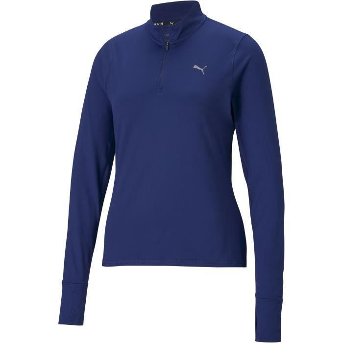 Veste zip - PUMA - Run Favorite - Bleu