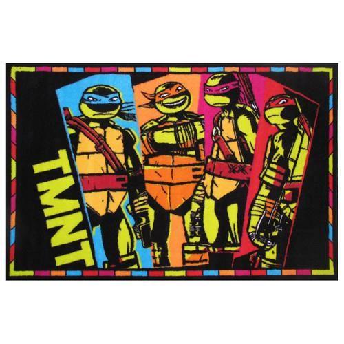 GARNITURE BERCEAU Garniture Berceau Nickelodeon Tortues Ninja TMNT T