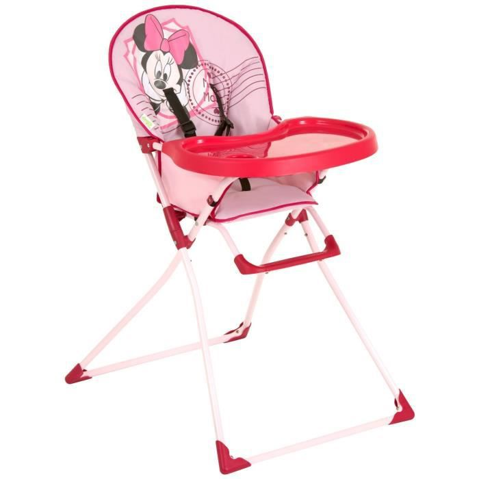 disney chaise haute mac baby minnie minnie achat vente chaise haute 4007923639412 cdiscount. Black Bedroom Furniture Sets. Home Design Ideas