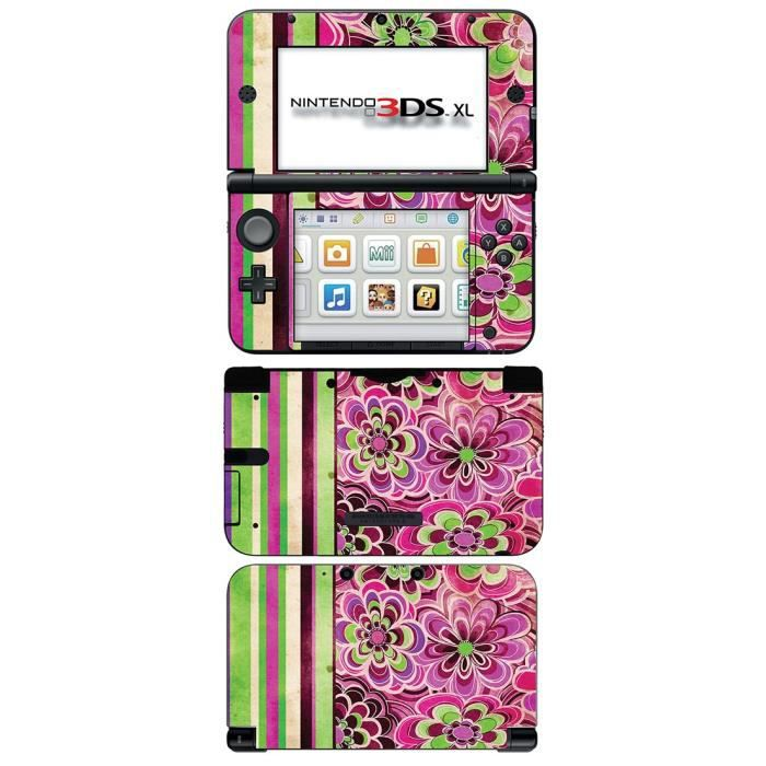 skin stickers pour nintendo 3ds xl sticker green. Black Bedroom Furniture Sets. Home Design Ideas
